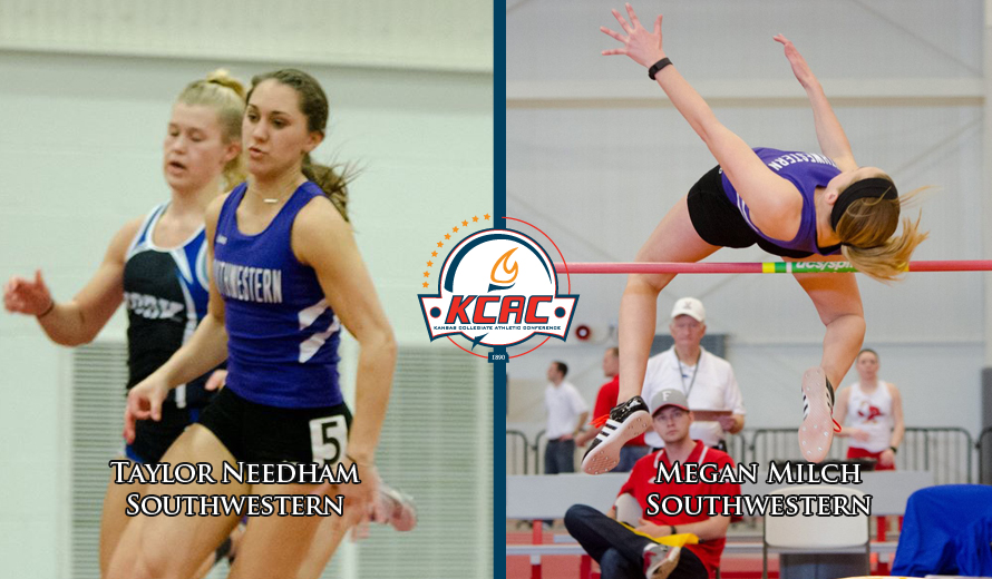 Photo for Southwestern Sweeps Weekly KCAC W -  Indoor Track and Field Honors