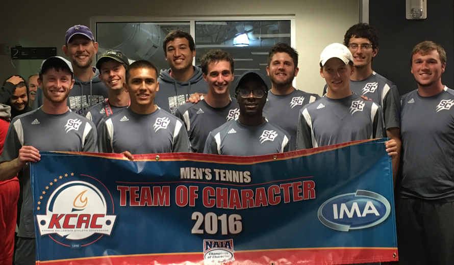Photo for Southwestern College M -  Tennis Earns KCAC Team of Character