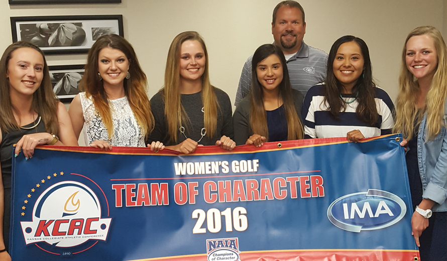 Photo for Ottawa University W -  Golf Team Earns KCAC Team of Character
