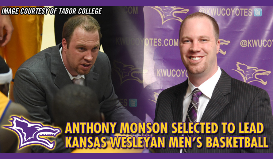 Photo for Kansas Wesleyan Selects Anthony Monson as Men�s Basketball Coach