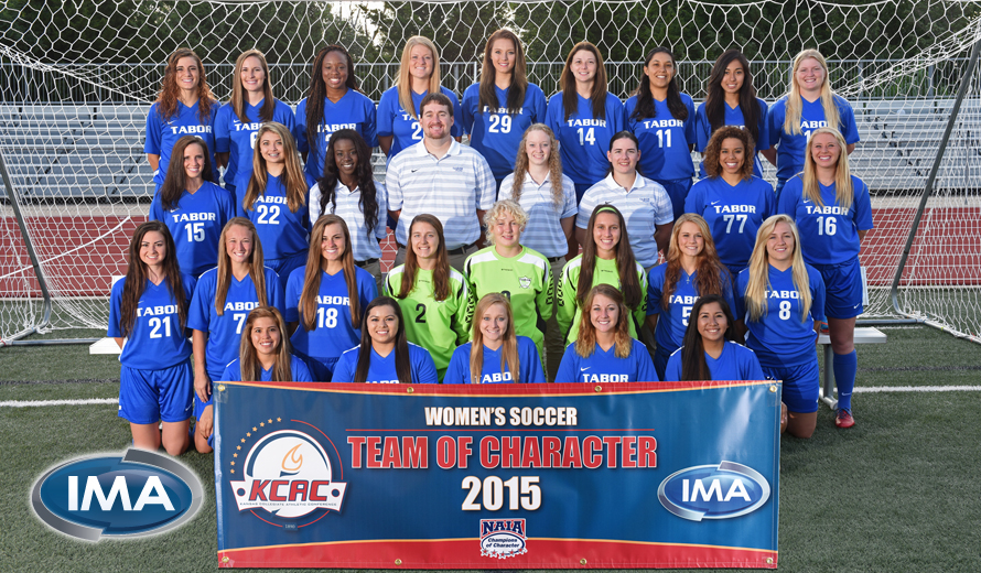 Photo for Tabor W -  Soccer Earns KCAC Team of Character Award