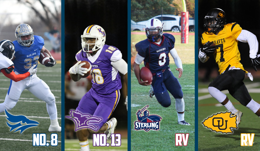 Photo for Tabor No. 8, Kansas Wesleyan No. 13, Sterling and Ottawa RV in NAIA Preseason Football Poll