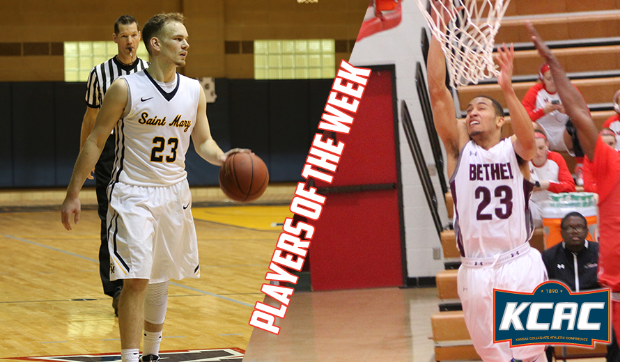 Photo for Greenberg and Robinson Earn KCAC M -  Basketball Weekly Awards
