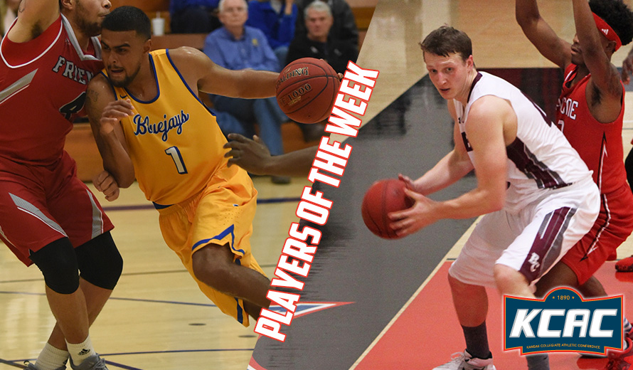 Photo for Carter and Miller Earn KCAC M -  Basketball Weekly Awards