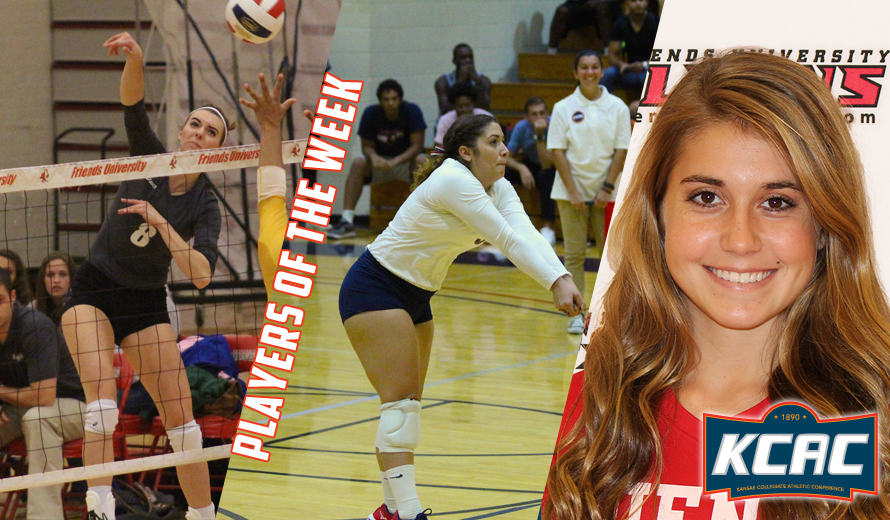 Photo for Bohn, Boston, and Novakovic Earn First KCAC Volleyball Weekly Honors