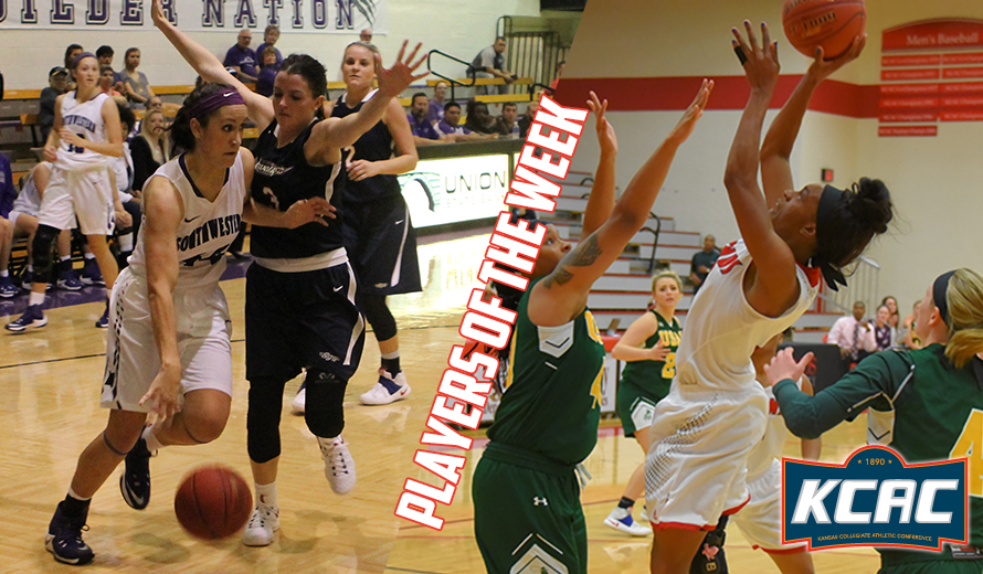 Photo for Miller and Sellers Earn KCAC W -  Basketball Weekly Honors