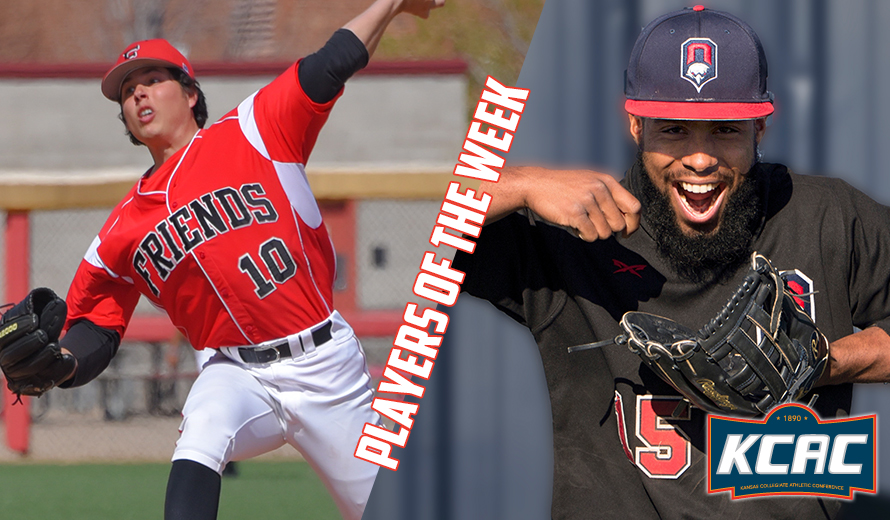 Photo for Acosta-Tapia and Rubio Earn KCAC Baseball Weekly Awards