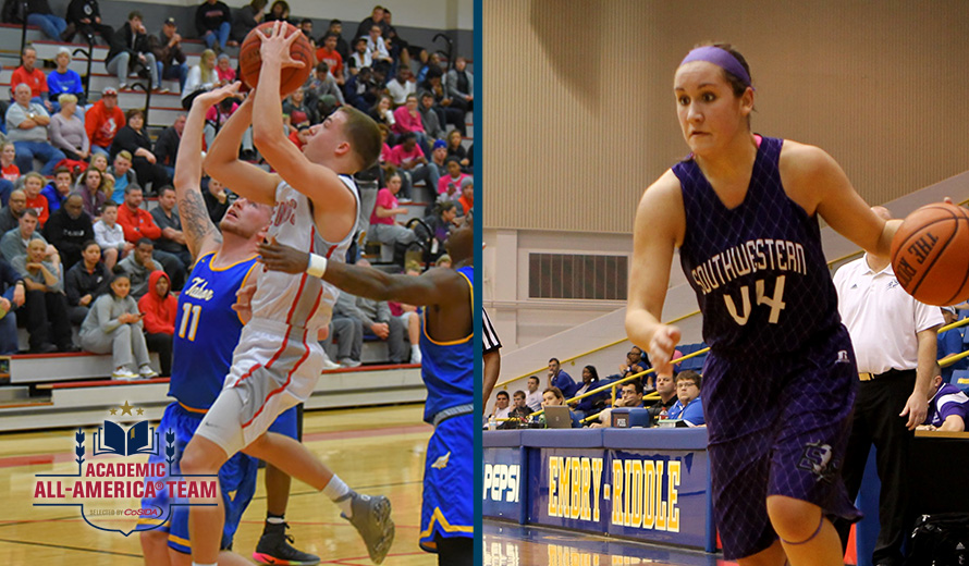 Photo for Baxter and Miller Named to CoSIDA Academic All-America® College Division Basketball Teams