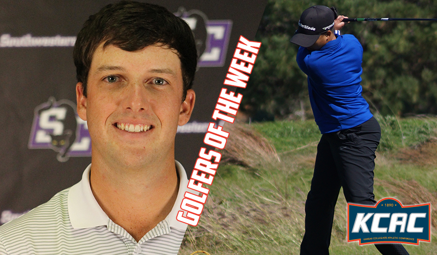 Photo for Fox and Bryant Earn KCAC Golfers of the Week