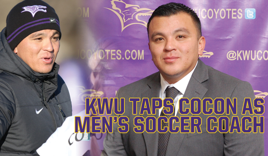 Photo for Kansas Wesleyan Taps Diego Cocon as M -  Soccer Coach