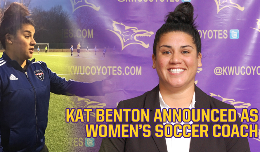 Photo for Kansas Wesleyan Selects Kat Benton as W -  Soccer Coach