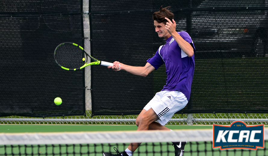 Photo for Southwestern's Franco Poi Earns KCAC M -  Tennis Player of the Week