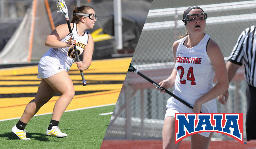 Photo for Ottawa No. 10, Benedictine RV in NAIA W -  Lacrosse Postseason Poll