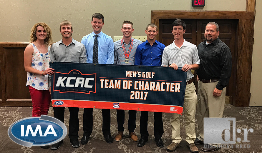 Photo for Ottawa University Earns KCAC M -  Golf Team of Character