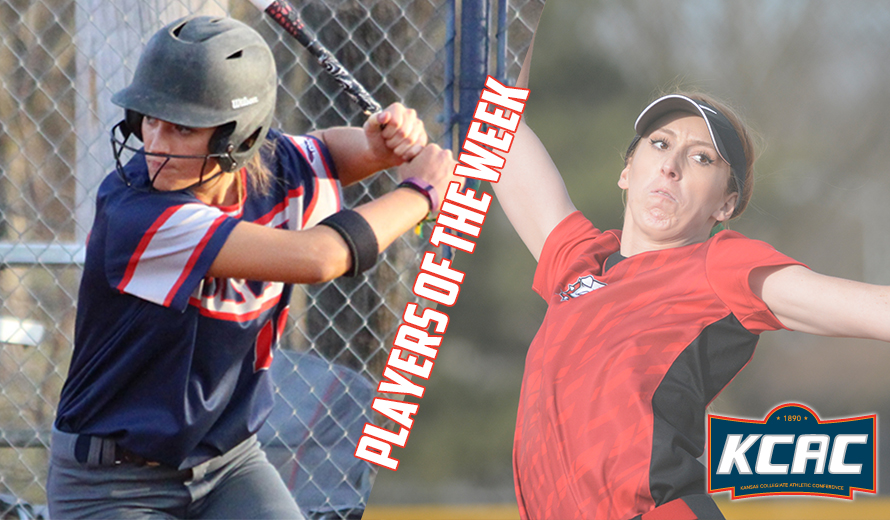 Photo for Shouldis and Betker Earn KCAC Softball Weekly Awards
