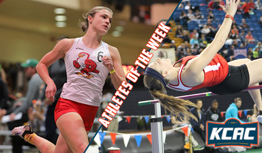 Photo for Friends Sweeps KCAC W -  Indoor Track and Field Weekly Awards