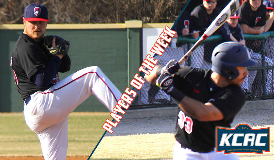 Photo for Oklahoma Wesleyan Sweeps KCAC Baseball Weekly Awards
