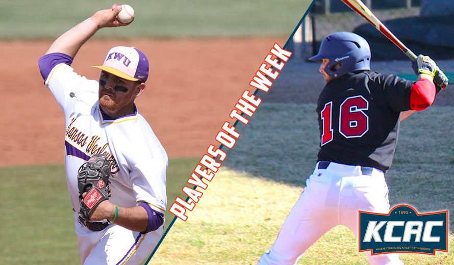 Photo for Ramones and Achenbach Earn KCAC Baseball Weekly Awards