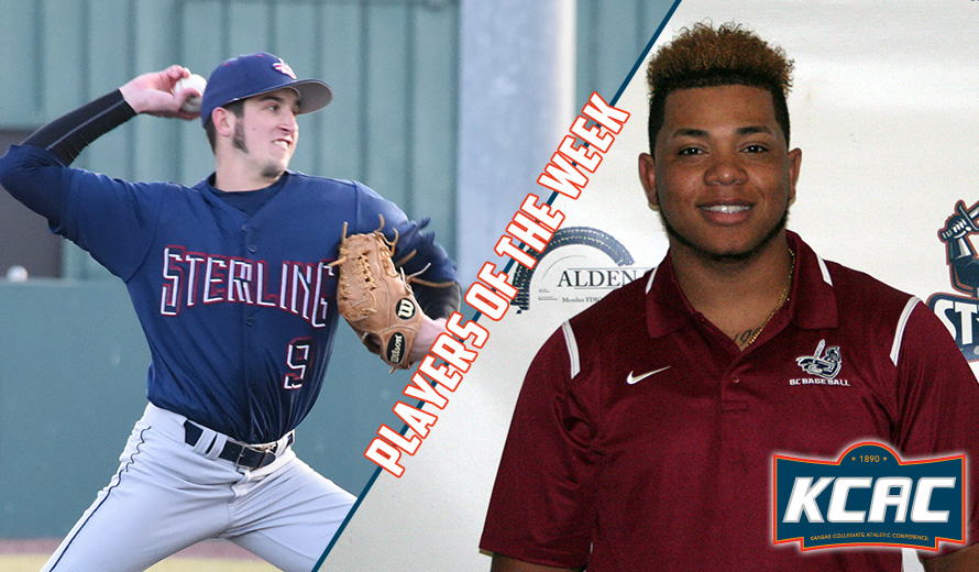 Photo for Sterling College Sweeps First KCAC Baseball Weekly Awards