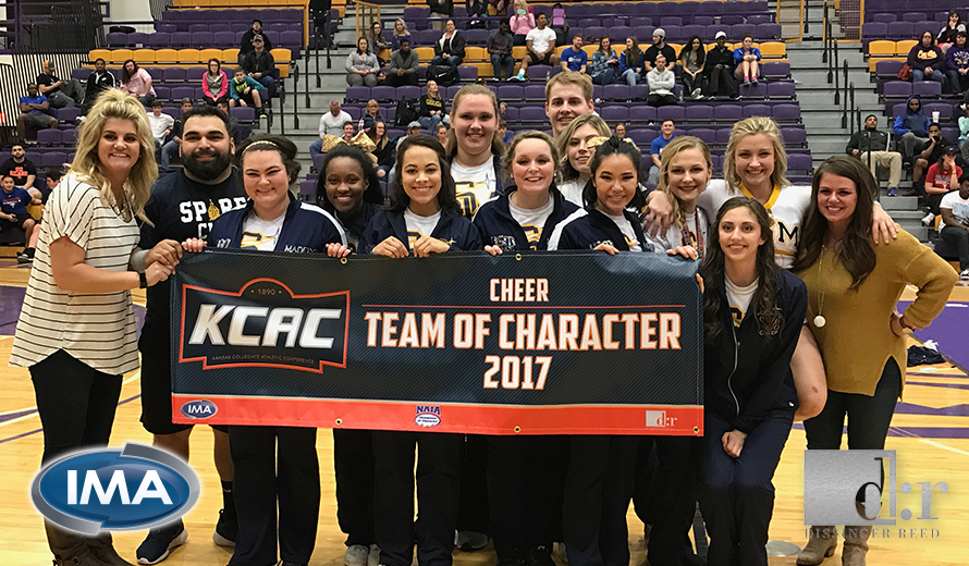 Photo for University of Saint Mary Earns 2017 KCAC Cheer Team of Character