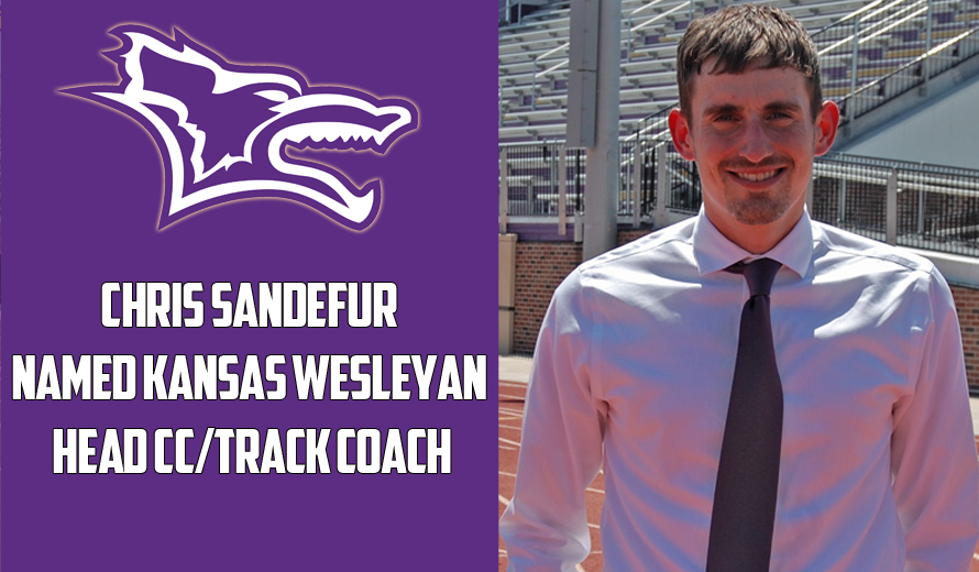 Photo for Kansas Wesleyan Names Chris Sandefur as Head Cross Country and Track Coach