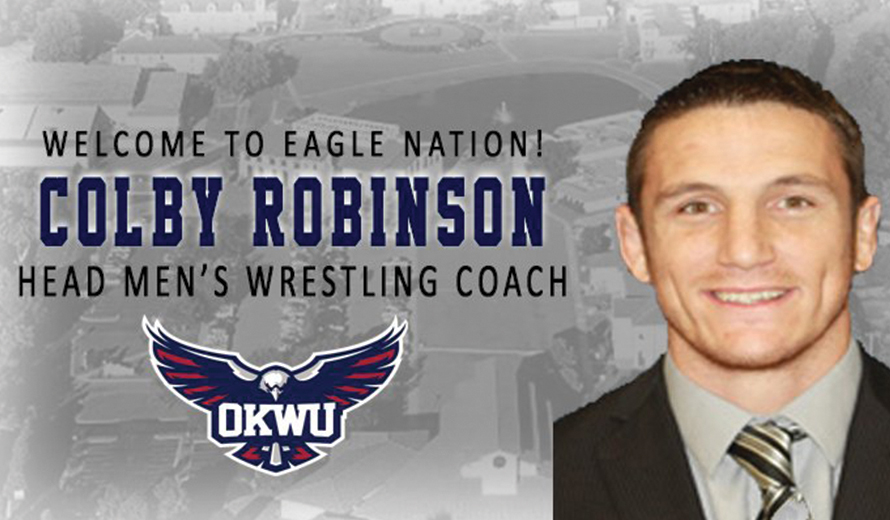 Photo for Colby Robinson Hired as Oklahoma Wesleyan's Head Men's Wrestling Coach