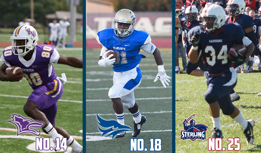 Photo for Kansas Wesleyan No. 14, Tabor No. 18, Sterling No. 25 in NAIA Football Top 25 Poll
