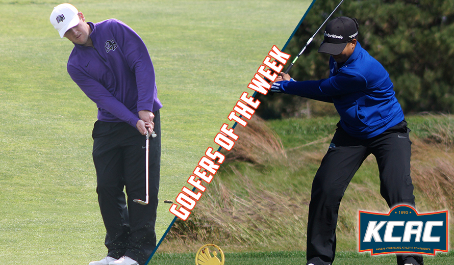 Photo for Fox and Bryant Named KCAC Golfers of the Week