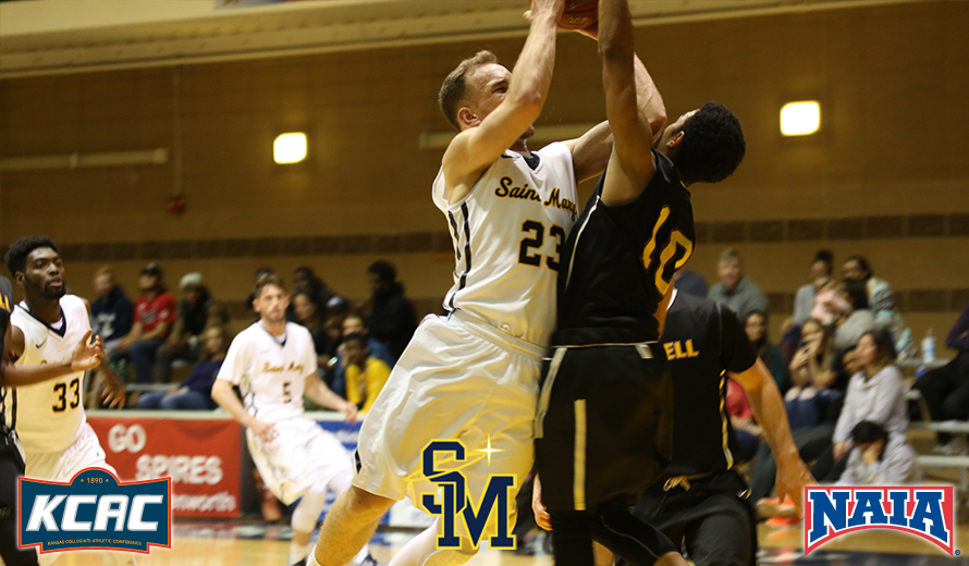 Photo for Saint Mary's Grant Greenberg Named NAIA DII M -  Basketball Player of the Week