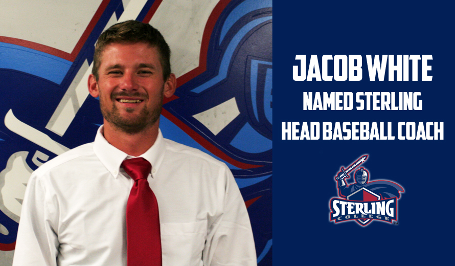 Photo for Jacob White Named Head Baseball Coach at Sterling College