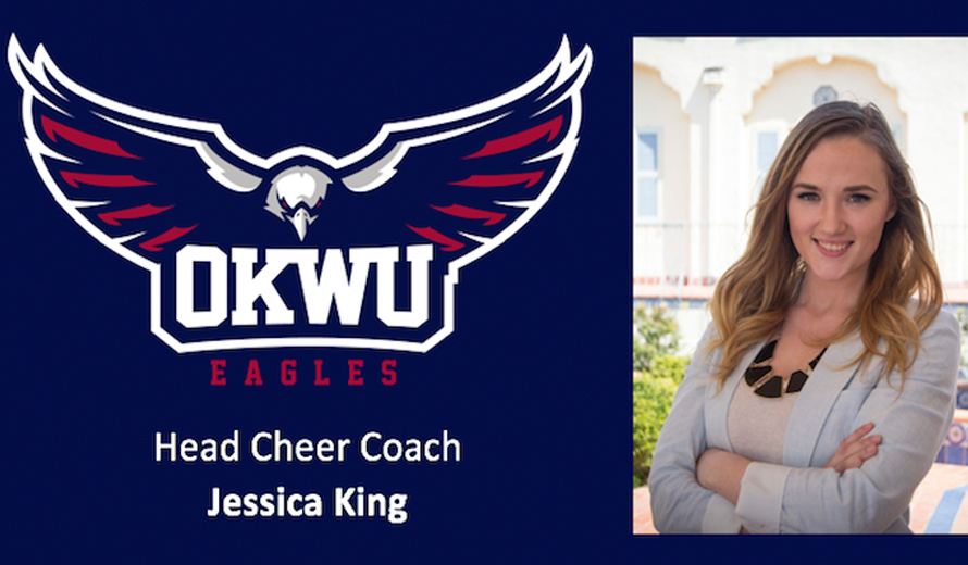 Photo for Jessica King Named Oklahoma Wesleyan Head Cheer Coach