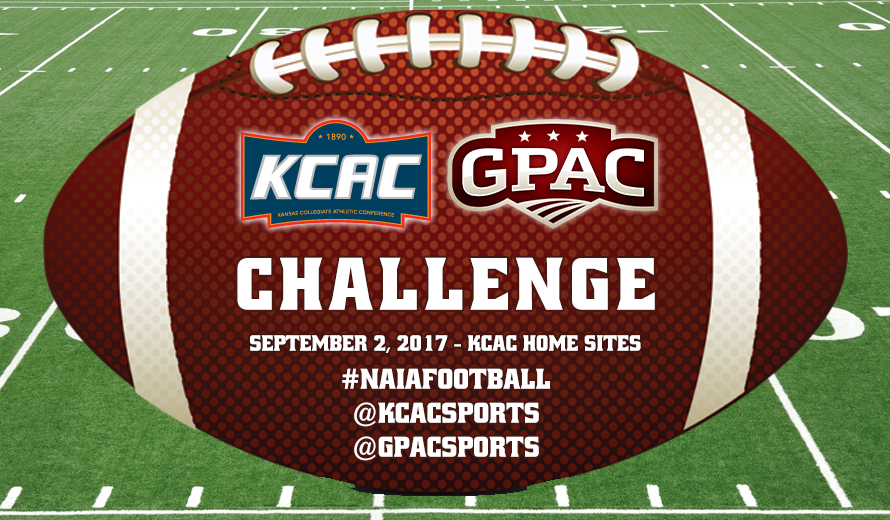 Photo for 2017 KCAC-GPAC Football Challenge Pairings Announced