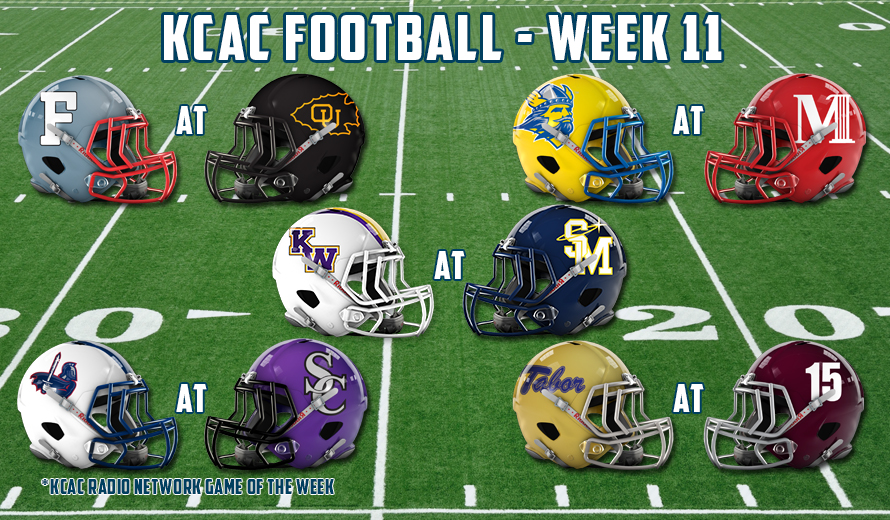Photo for 2016 KCAC Football - Week 11 Preview