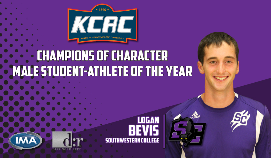 Bevis Selected as KCAC Champions of Character Male Student-Athlete