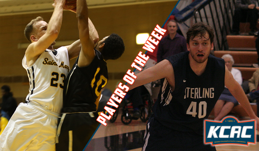Photo for Greenberg and Ray Earn KCAC M -  Basketball Weekly Awards