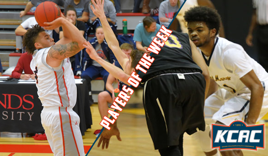 Photo for Murdock and Young Earn KCAC M -  Basketball Weekly Honors