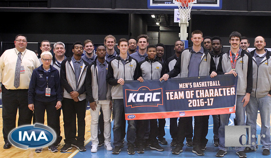 Photo for Ottawa University Earns 2017 KCAC M -  Basketball Team of Character