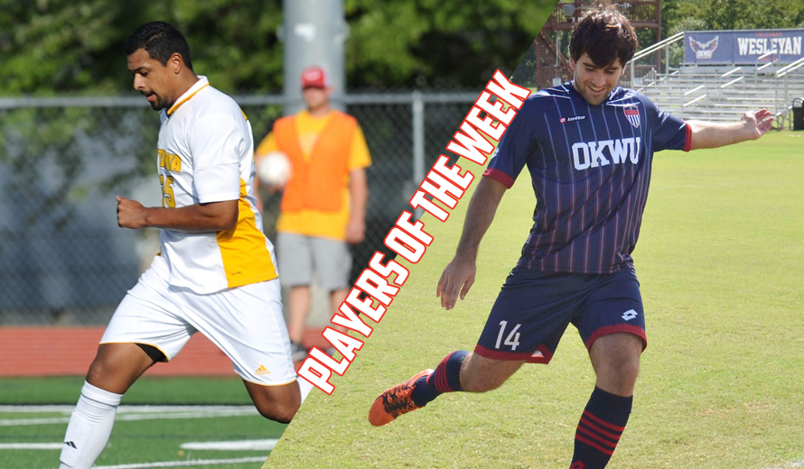 Photo for Lopez and Aznal Earn KCAC M -  Soccer Weekly Awards