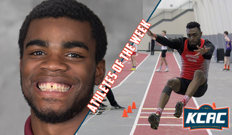 Photo for Heath and Clayton Earn KCAC M -  Indoor Track and Field Weekly Awards