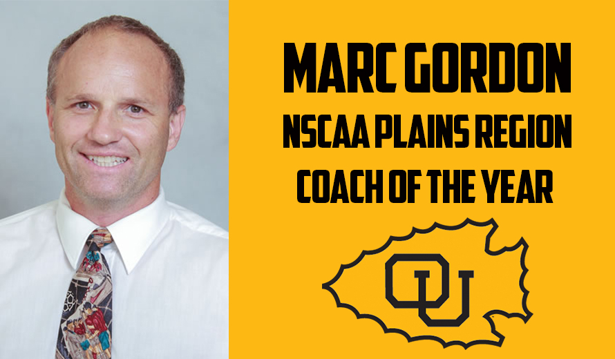 Photo for Ottawa University's Marc Gordon Named NSCAA Plains Region Coach of the Year