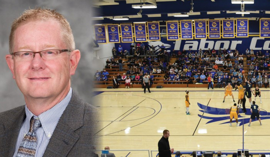Tabor's new men's basketball assistant coach and SID Mark Fox