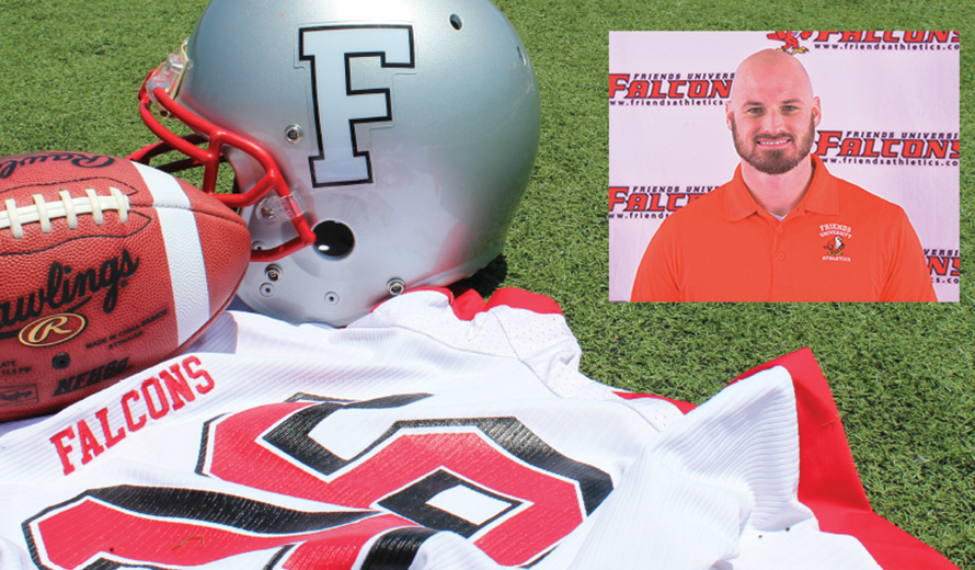 Photo for Meneley Named Friends University Head Football Coach