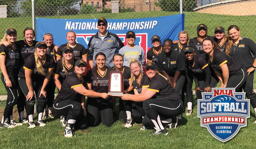 Photo for Ottawa University Advances to 2017 NAIA Softball World Series