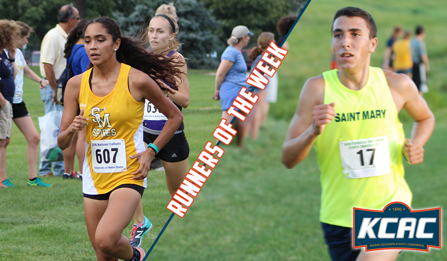 Photo for Saint Mary Sweeps KCAC Cross Country Weekly Awards