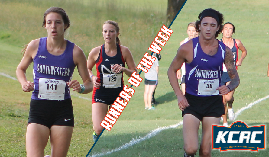 Photo for Southwestern Sweeps KCAC Cross Country Weekly Awards
