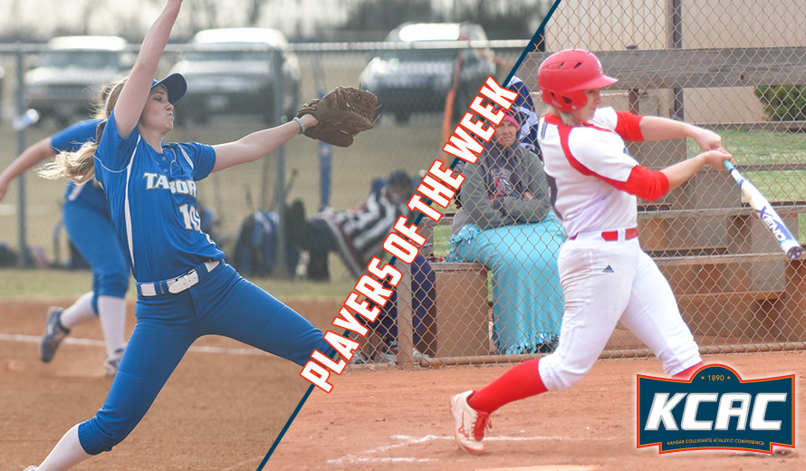 Photo for Byrd and Hudson Earn KCAC Softball Weekly Awards