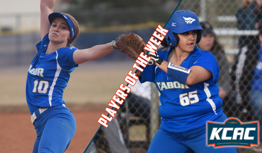 Photo for Tabor Sweeps KCAC Softball Weekly Awards