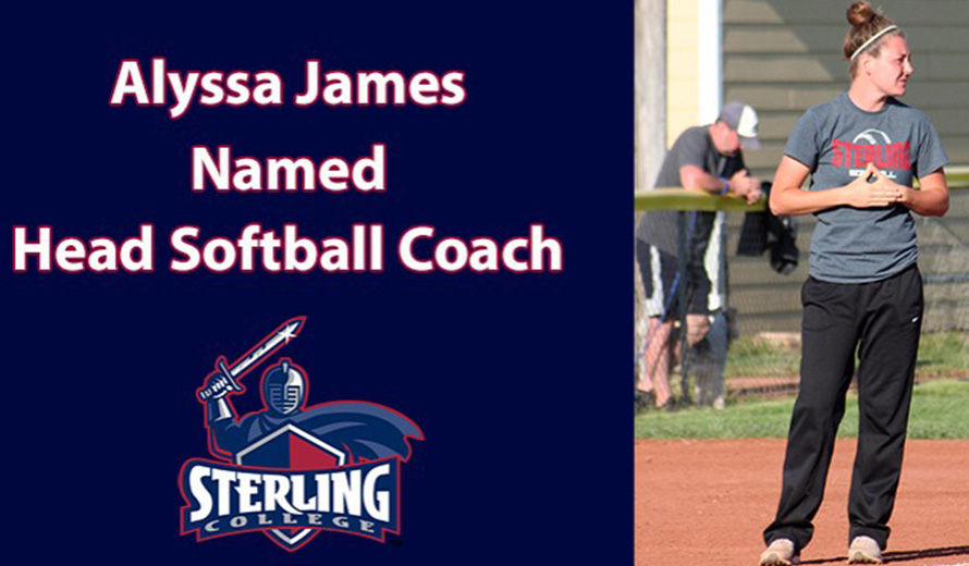 Photo for Alyssa James Named Sterling College Head Softball Coach