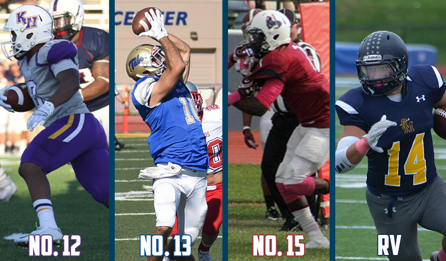 Photo for Kansas Wesleyan No. 12, Tabor No. 13, Sterling No. 15, Saint Mary RV in NAIA Football Poll