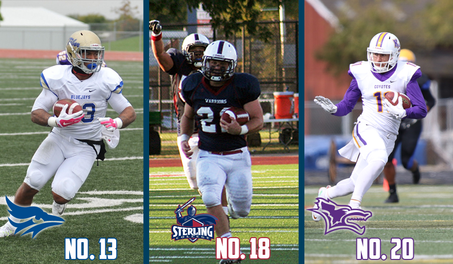 Photo for Tabor No. 13, Sterling No. 18, Kansas Wesleyan No. 20 in NAIA Football Top 25 Poll